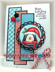 penguin card #Christmas #thanksgiving #Holiday #quote