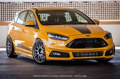 Ford Focus ST Tuning #SEMA #Ford Performance