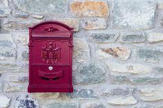 Mailbox by Milena Milani - Stocksy United Swipe File, Milani, Mailbox, The Unit, Stock Photos, Dreams, House, Mail Drop Box, Home