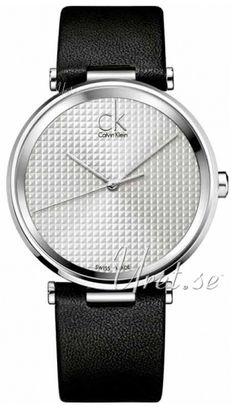 Calvin Klein Hopea/Nahka kello K1S21120. Materiaalit & Mitat Malli:K1S21120 Tyyppi:Miesten kello, Dress Halkaisija:�