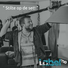 """ Stilte op de set! ""  #LabelMeFilm #making_of MEER_WETEN? #LMF The Creator, Identity, How To Make, Fictional Characters, Fantasy Characters"