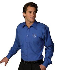 True to Size Apparel - Mens Poplin Shirt Point Collar LS - Stain Resistant, $24.22 (http://truetosizeapparel.com/mens-poplin-shirt-point-collar-ls-stain-resistant/)