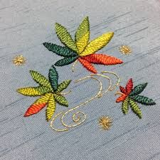 「日本刺繍 もみじ」の画像検索結果
