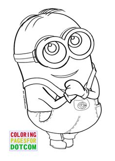 Minions Coloring Pages 3 | Coloring Pages Printable