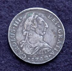 1782 Carlos III Carlos Iii, The Collector, Coins, Personalized Items, History, Coining, Rooms, History Books, Historia