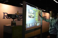 Display Trade Show Screen - Portable Package