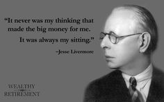 More proof that long-term investing is the best strategy from Jesse Livermore