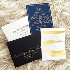 Save the Dates by Ink & Ivory www.inkandivory.com #goldfoil #savethedate #inkandivory