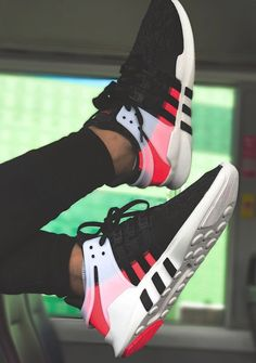 online store e34e2 af73c Adidas EQT Support ADV - Turbo Red Black - 2017 (by azimraven) A