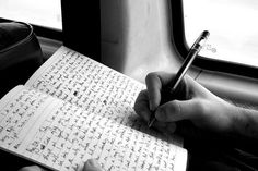 pen. hand. paper. journal.