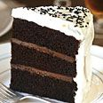 Black Pearl Layer Cake- chocolate, ginger, black sesame and wasabi!!! (just like the chocolate bar)
