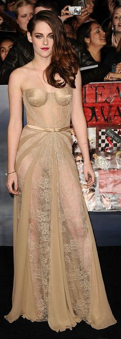 Kristen Stewart's Zuhair Murad dress is one of our favorite sheer moments of all-time.