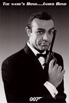 Sean connery james bond dr no 1962 the best james - My name is bond james bond ...