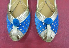 Women Flat Shoes in Sky Blue Color Wedding Shoes by BeautyShop21