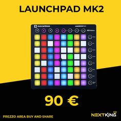 Launchpad Mk2, Novation Launchpad, Smartphone, Audio, Notebook, Stuff To Buy, Notes, Notebooks, Exercise Book