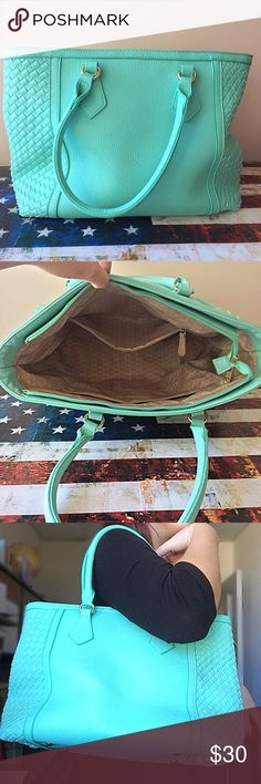 Sharp Turquoise Purse! Brand new without tags! This bag is beautiful for spring season! Charming Charlie Bags Shoulder Bags