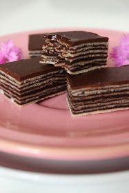 M's Bakery: Mađarica / Madjarica Cake Recipes, Dessert Recipes, Desserts, Serbian Recipes, Bakery, Candy, Chocolate, Food, Kuchen