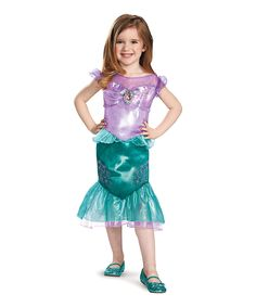 Ariel Classic Dress-Up Outfit - Toddler & Girls