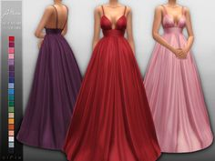 - New mesh Found in TSR Category 'Sims 4 Female Formal' Sims 3, Sims 4 Mm Cc, Sims Four, Maxis, Sims 4 Mods Clothes, Sims 4 Clothing, Clothing Sets, Sims 4 Dresses, Formal Dresses