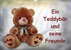 Ein Teddybär und seine Freunde - CALVENDO Kalender von Jennifer Chrystal