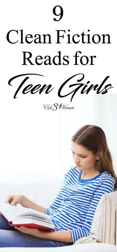 It can be difficult to find good, clean fiction reads for teen girls today. We hope this list will get you started in the right direction. Best Books For Teens, Best Books To Read, Ya Books, Good Books, Teen Girl Books, Book Girl, Christian Fiction Books, Clean Book, Kids Reading