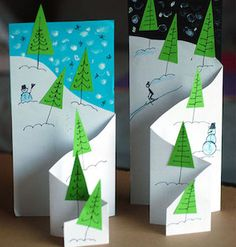 Want to know more about Homemade Christmas Decorations Homemade Christmas Cards, Christmas Tree Cards, Diy Christmas Ornaments, Xmas Cards, Christmas Art, Handmade Christmas, Holiday Cards, Christmas Decorations, Cards Diy