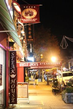 Uncle Jack's Steakhouse... A local favorite