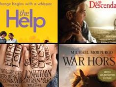 Oscar favorites inspired by books