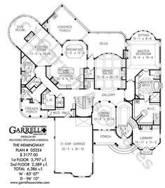 Floor plans of a residence, Brookline, Massachusetts ARCHI