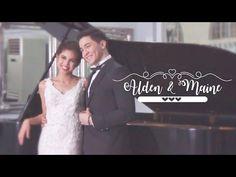 ALDUB Prenup Photoshoot (Behind The Scenes) - YouTube Lace Wedding, Wedding Dresses, Behind The Scenes, Photoshoot, Studio, Formal Dresses, Maine, Youtube, Photography