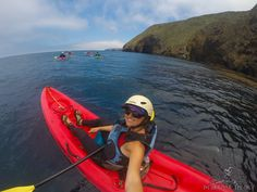Exploring Channel Islands National Park by sea kayak // Shot with a #GoPro Hero 3+ // Learn more: http://bearfoottheory.com/top-5-things-to-do-santa-cruz-island/