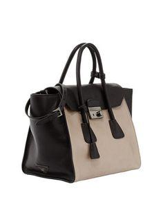 Prada Bicolor Glace Calf Tote Bag 1aa56679772e4