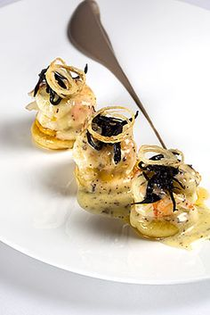 Scottish Langoustines with Gnocchi and Truffle CLICK THIS PIN if you want to learn how you can EARN MONEY while surfing on Pinterest