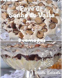 Pavê de Sonho de Valsa, quem resiste diante de uma sobremesa irresistivelmente tentadora? Aposto que ninguém!