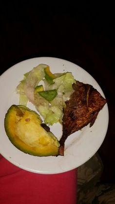 Fish and Avacado