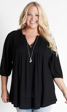 This looks comfy...and it's BLACK, lol...my favourite colour of clothing!