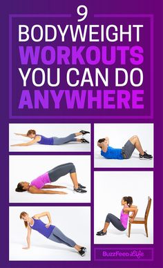 9 Quick Bodyweight Workouts You Can Do Anywhere - BuzzFeed News