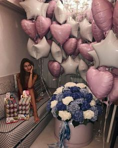 balloons, beauty, and chocolate image Birthday Goals, Bff Birthday Gift, 20th Birthday, Princess Birthday, Birthday Celebration, Birthday Wishes, Birthday Girl Pictures, Birthday Photos, Creative Valentines Day Ideas