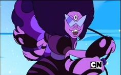 Sugilite - Steven Universe the Garnet and Amethyst fusion is scary