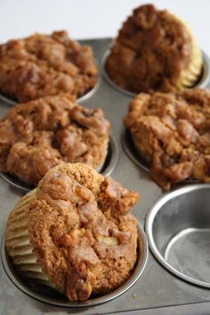 Recipe: Gluten-Free Sweet Potato Walnut Cupcakes. (Follow our other boards for detox, fitness, yoga and green living tips: pinterest.com/gaiam)