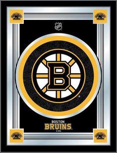 huge selection of 22f37 2d430 Boston Bruins Logo Mirror Wall Art