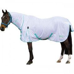Saxon Softmesh Combo White Green Horse Rugs Equine Super