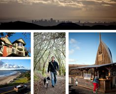 San Francisco's wealthy neighbor to the north, Marin boasts oyster bars, a famous farmers' market, cultural spots and a bounty of optical treats.