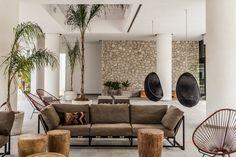 Casa Cook is magical collaboration between local architect Vana Pernari interior designer Annabell Kutucu, and Michael Schickinger, Creative Director of Berlin-based design agency, Lambs & Lions