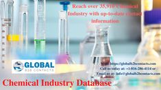B2b Email Marketing, Chemical Industry, Email List, Industrial, Industrial Music