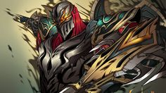 Download HD Wallpaper - Fanart Art Ninja Zed Drawing - from our collection of Games Wallpapers ! Use this image as a background for any device.