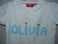 Name Tee. Olivia 2.