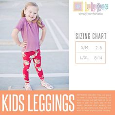 LuLaRoe KIDS L//XL  NWT New leggings 8-14  Mystery Solid And Pattern