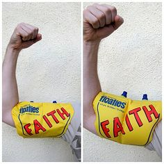 """FHE Lesson on Faith - Oh yes! Fits in perfectly to our """"Putting on the Armor of God"""" theme this month!"""