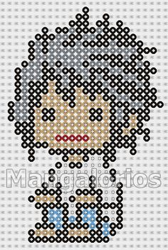 Death Note perler pattern by Mangalorios